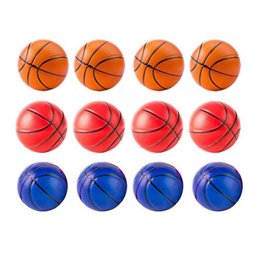 Toyvian Squeeze Toy Mini balón antiestrés Baloncesto para Alivio del...