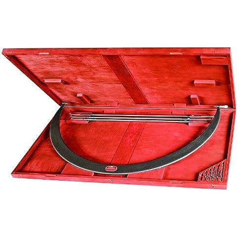 Starrett 724LZ-54 tipo tubolare con Micrometre, intercambiabili incudini, tinta unita, ditale, Nut Lock, 48-137,16 cm (54