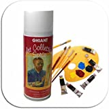 Barniz-spray para pinturas al óleo, 400 ml - mate