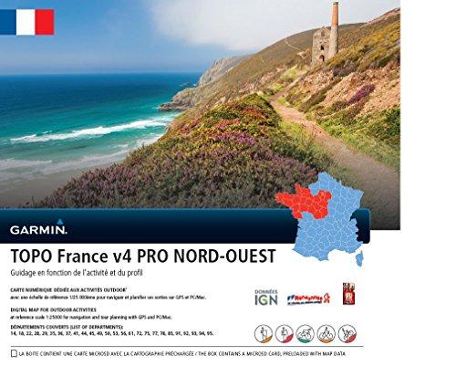 e Karte Frankreich V4 PRO Nord-West, 010-11238-02 ()