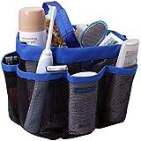 Cartshopper Quick Dry Storage Bags Hanging Mesh Bathroom Bag Shower Tote Caddy Cosmetics Organizer with 8 Pockets Portable Bath Bags