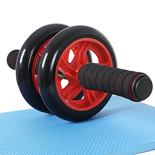 SONGMICS AB Roller AB Wheel Push Up Con Cojín Del...