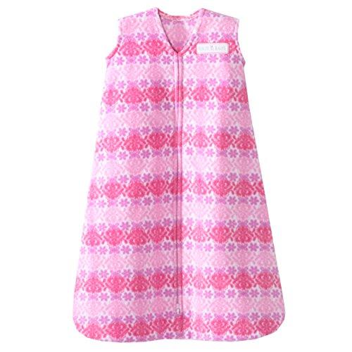 Halo SleepSack Wearable coperta in pile (, misura media, colore: rosa, motivo: farfalle Ombre)
