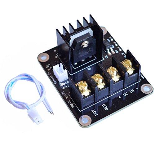DollaTek Módulo de energía de la cama de calor Módulo de expansión de energía de la cama caliente Módulo de carga de alta corriente del tubo MOS para la impresora 3D