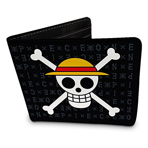 Billetera One Piece logo pirata