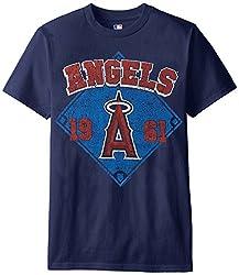 MLB Los Angeles Angels Men's 58J Tee, Navy, XX-Large