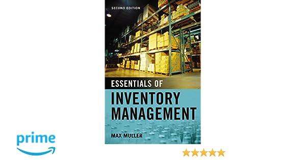 Essentials of Inventory Management: Amazon co uk: Max Muller