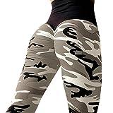 Leggings da allenamento per donna KOLY Fitness Sports Gym Running Pantaloni da atletica Leggings sportivi Pantaloni da corsa Fitness Sport colorati Sportivi Donna Sport Palestra Yoga (Army Green, S)