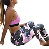 Capri Pants, Switchali Frauen Skinny Leggings Patchwork Mesh Yoga Leggings Fitness Sport Capri Hosen