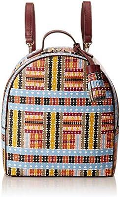 TOUS Alicya, Bolso mochila para Mujer, Multicolor (Multicolor 995810312), 21.5x25x9.5 cm (W x H x L)