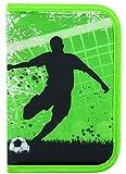 Produkt-Bild: Idena 241123 - Schüleretui Soccer, 50-teilig, grün
