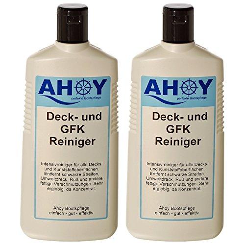 Yachticon Ahoy Deck- und GFK Reiniger - 2 Flaschen je 480ml