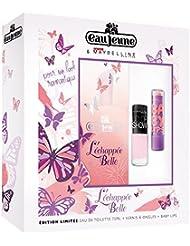 EAU JEUNE Coffret L'Echappée Belle, Eau de Toilette 75 ml + Vernis ColorShow + Baby Lips MAYBELLINE