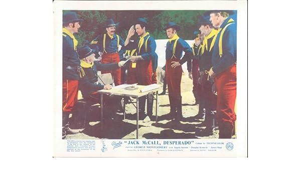Jack Mccall Desperado George Montgomery Lobby Carte Original U S Cavalry Amazon Fr Cuisine Maison