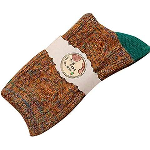 Donna Calze Clode® Donna Cotone Colorato Yoga Palestra Antiscivolo Punta di Massaggio Calzini Grip Completa con Calzini Heel