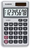 Casio Calculator Handheld Battery Solar-power