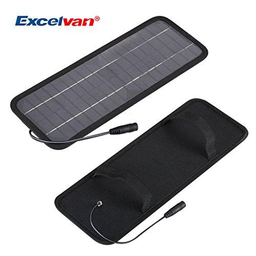 Excelvan-12V-45W-Portatile-Pannello-Solare-Fotovoltaico-Carica-Batterie-AUTO-Mantenimento-Batterie-Moto-Pannello-Solare-Batteria