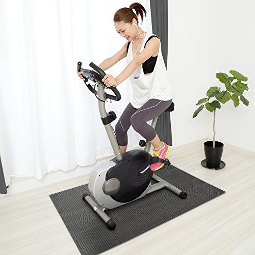 Design Bodenschutzmatte PADUA   Unterlegmatte für Fitnessgeräte   zuverlässiger Bodenschutz   60x120cm