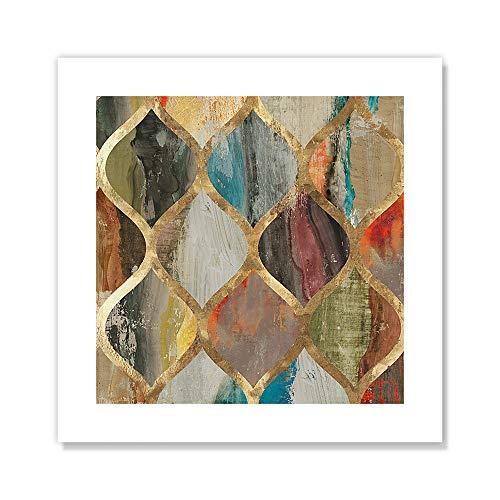 Casa Fine Arts Deko-Kunstdruck Gewürztones, abstraktes Archivbild Shaker 10