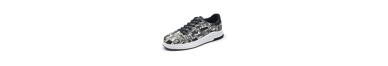 Zapatillas de Deporte de Moda para Hombres Zapatillas de Skate con Suela de Goma Liviana, Transpirable, Ligera... -