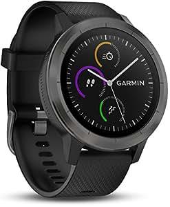 Garmin Vivoactive 3 Smartwatch GPS con Profili Sport, Sensore Cardio e Pagamento Contactless, Gunmetal