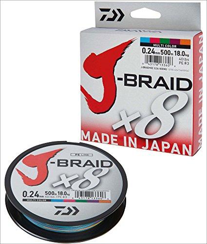 Daiwa - Fishing Braid J Braid 8B 300M 13/100 12755113