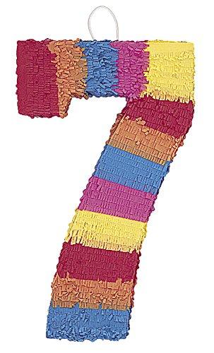 Unique Party- Piñata número 7 (6677)