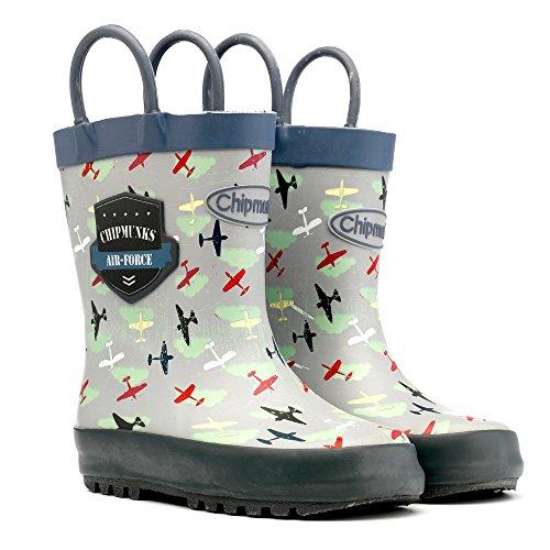 chipmunks-boys-winston-rain-boots-multicolor-khaki-332-4-uk-21-eu