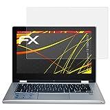 atFolix Folie für Dell Inspiron 13 7000 (2015) Displayschutzfolie - 2 x FX-Antireflex-HD hochauflösende entspiegelnde Schutzfolie