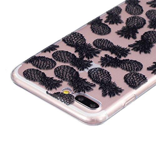 "MYTHOLLOGY iPhone 7 Plus Coque - SEUL 5.5"" iPhone 7 Plus Coque Silicone Etui Housse Cover - TTH HSBL"