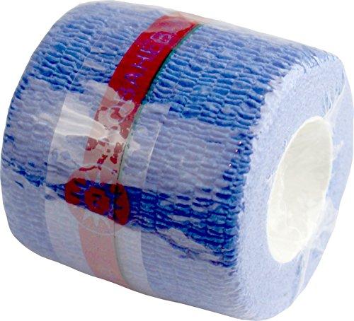 Nobaheban Vliesstoffbinde Fixierbinde ver Farben + Größen von Noba Verbandmittel(blau,5,00 cm x 4,5 m,1 Stück)