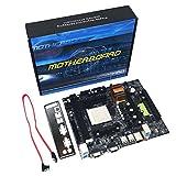 Dailyinshop N68 C61 Desktop-Computer Motherboard Unterstützung für AM2 für AM3 CPU DDR2 + DDR3-Speicher-Mainboard mit 4 SATA2 Ports