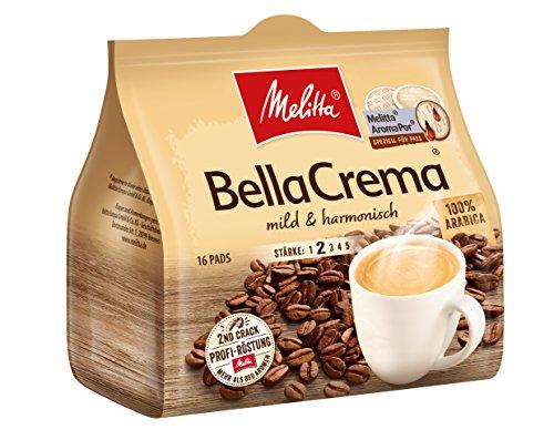 Melitta Gemahlener Röstkaffee in Kaffeepads, 10 x 16 Pads, 100 % Arabica, mild und harmonisch,...