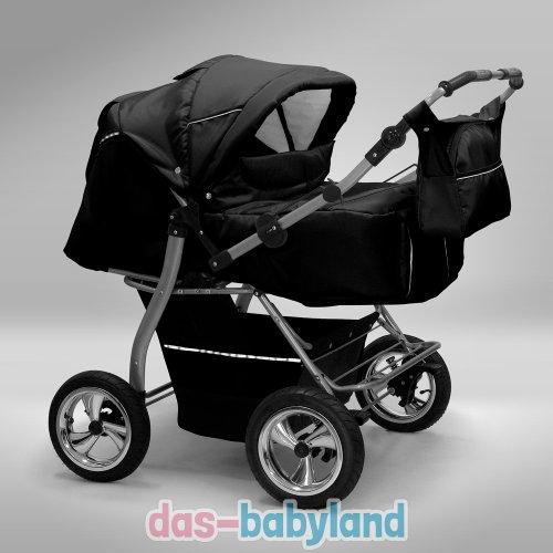 Akjax Zwillingskinderwagen + Autositze