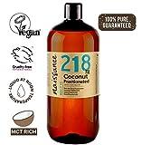 Naissance Aceite Vegetal de Coco Fraccionado n. º 218 - 1 Litro - Puro, natural, vegano, sin...