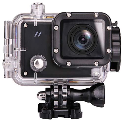 """CBDJNT Action-Kamera, 2K 16MP Sport Action Kamera Unterwasser wasserdichte 30M Kamera Mit 1,5""""LCD Weitwinkel 1080P Full HD Sport Camcorder WiFi Wireless Control"""