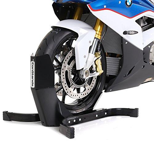 Constands Easy Plus Motorradwippe für Anhänger Transportständer Montageständer Radhalter Wartung und Reparaturen Test