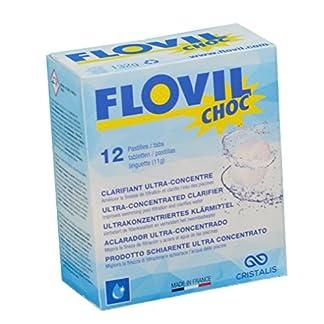 Flovil Choc MD9290 Flocculante a Rapida Azione per Trattamento Choc, Bianco, 11x5x13 cm