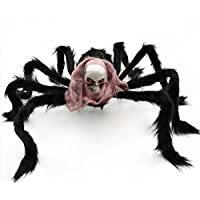 2 pezzi spaventoso Halloween realistico Hairy ragni ragno gigante Decor  indoor outdoor yard Decorations Fake Large 721b8934e7e6