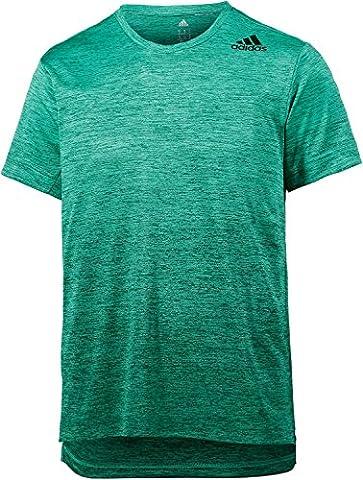 adidas Herren Freelift Gradient T-Shirt, Core Green,