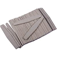 HotEnergy 50pcs nuovo Nail Art Manicure qualità Nail File grigio diamante 100/180