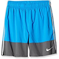Nike AS YA Distance YTH Pantalones Cortos, Niños, Azul (Lt Photo Blue/Dark Grey/FLT Silver), XL