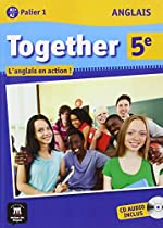 Anglais 5e Together A1+/A2 Palier 1 : L'anglais en action ! (1CD audio)
