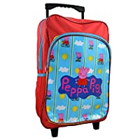 Peppa Pig CAT-DLC-02 Deluxe Travel Trolley with 40 cm Backpack