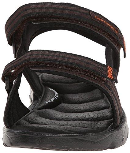 New Balance Men's Rev Plush2O Rafter Sandal, Brown, 10 D US Brown