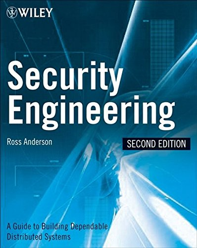 Computer Bücher Engineering (Security Engineering: A Guide to Building Dependable Distributed Systems)