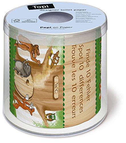 Toilettenpapier Rolle 10 Differences - Finde 10 Unterschiede / Bad / Badartikel / Geschenk
