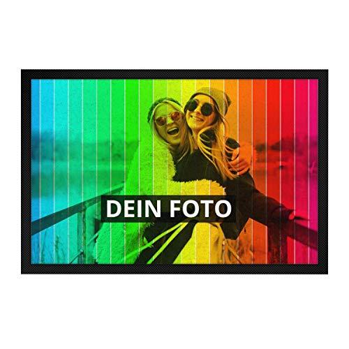 PhotoFancy Fussmatte mit Foto personalisiert - Fußmatte mit Foto Bedrucken
