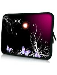 Luxburg® design housse sacoche pochette pour ordinateur portable 15,6 pouces, motif: Femme avec capuche