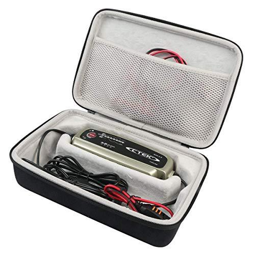 khanka Tasche schutzhülle für CTEK MXS 5.0 Vollautomatisches Ladegerät 12V, 5 Amp EU Stecker etui case.(Für CTEK MXS 5.0)